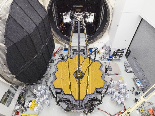 NASA's next big space telescope is out of its cryogenic testing chamber