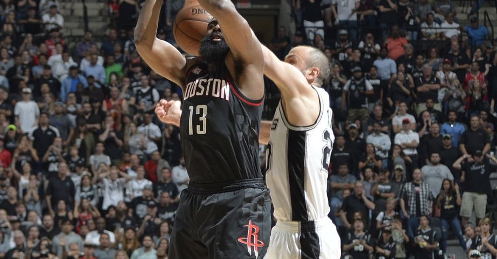 """Manu Ginobili's block on James Harden makes """"Most Incredible"""" list"""
