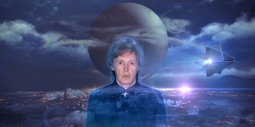 Music video of ghostly Paul McCartney will please conspiracy theorists