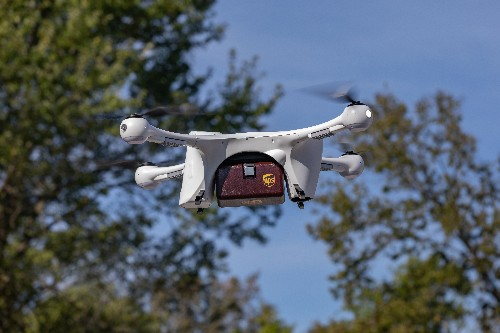 UPS delivers prescription medications to US homes by drone for the first time