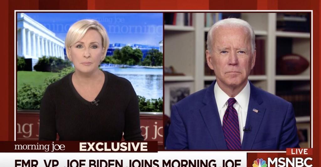 Joe Biden denies Tara Reade's sexual assault allegation in TV interview