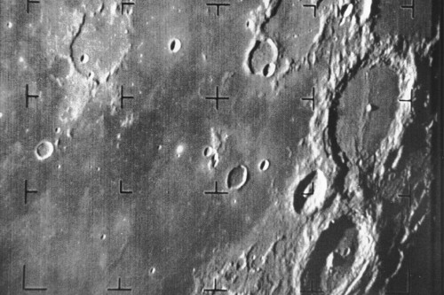 The first detailed Moon photo was taken 50 years ago today