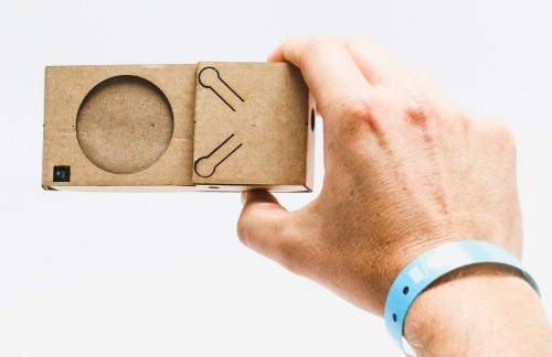 Google really likes making things out of cardboard