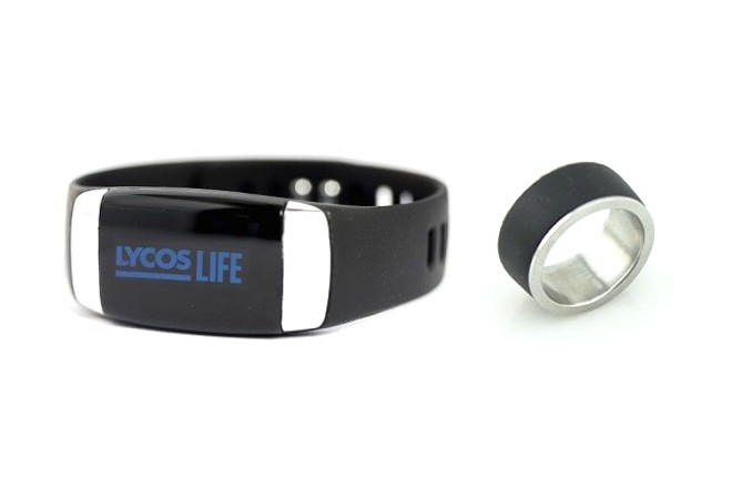 The web portal Lycos is releasing a smart band and smart ring