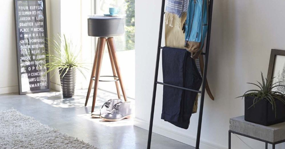 This $50 wall ladder is like having an extra closet