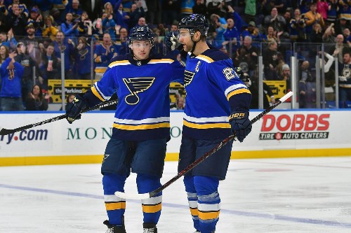 Facing the St. Louis Blues Summer