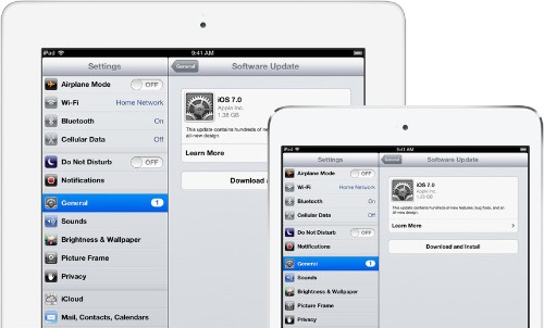 iOS 7 now available for iPhone, iPad, and iPod touch