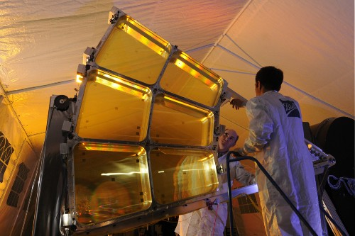 DARPA creating giant folding space telescope from plastic wrap-like material