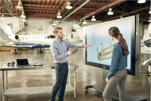 Microsoft is now shipping its delayed $8,999 Surface Hub displays to businesses