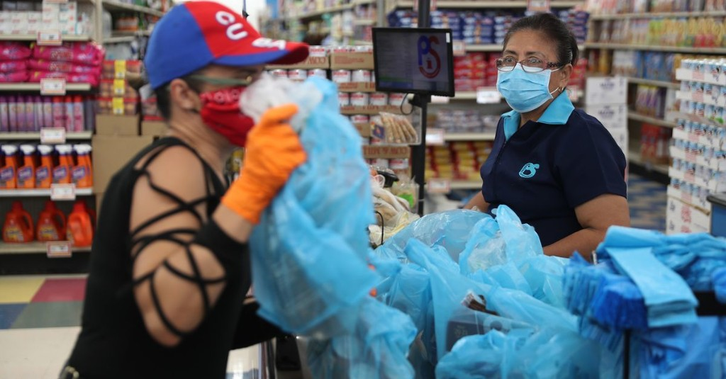 Plastic bags were finally being banned. Then came the pandemic.