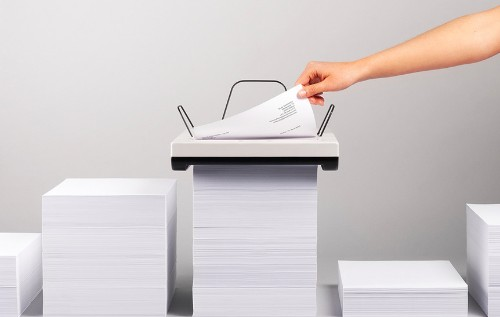 Printer concept trades your bulky inkjet for a Stack of paper