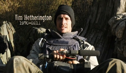 HBO documentary on the life and death of conflict photographer Tim Hetherington premieres next month