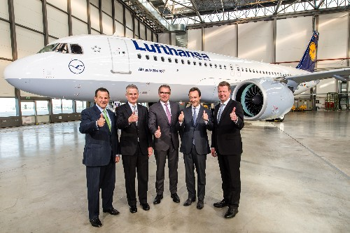 Airbus just delivered the first A320neo, its next-gen 737 competitor