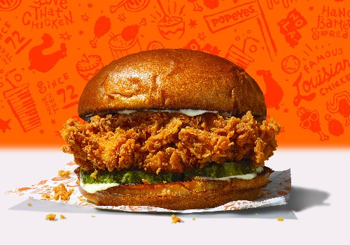 Popeyes, Ever the Tease, Temporarily Removes Crispy Chicken Sandwich From Menu