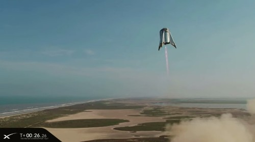 SpaceX's prototype rocket flies to its highest altitude yet during hover test