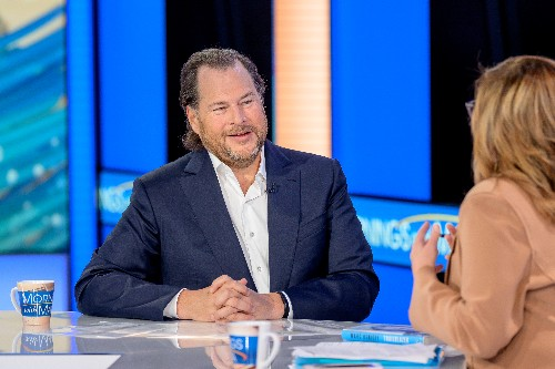 """Salesforce CEO Marc Benioff: """"capitalism as we know it as dead"""""""