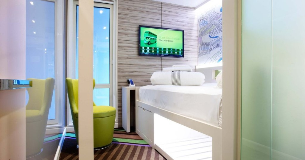 Smart UK hotel room will let you check in, control temperature, and order meals from your phone
