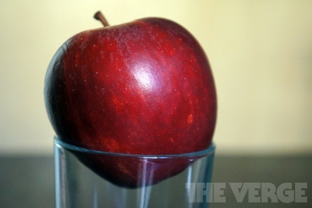 Fruit should be eaten, not drunk