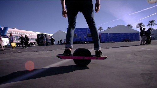 US Marshals raided a Chinese electric skateboard company at CES