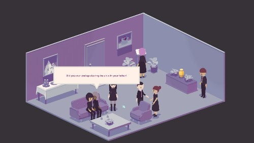 This video game will make you think differently about death.