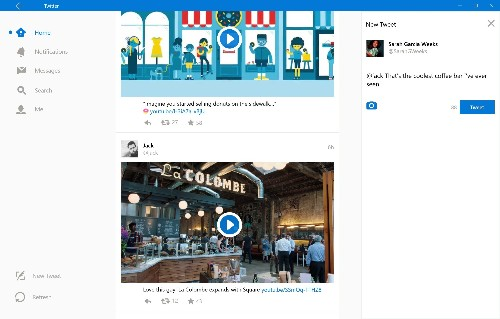 Twitter for Windows 10 gets a new look