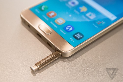 Samsung erroneously lists 128GB Galaxy Note 5 and S6 Edge+