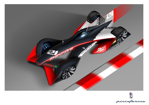 Mahindra releases radical Formula E concepts made with legendary automotive design house Pininfarina