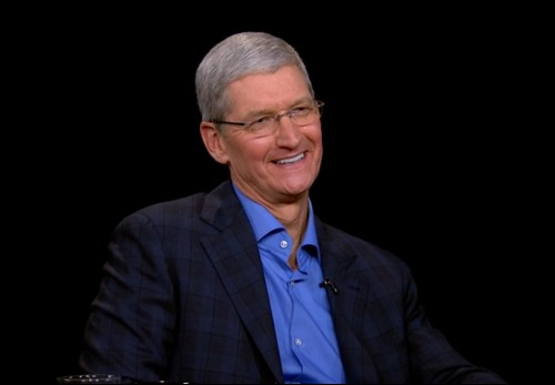 Watch this: a full hour of Tim Cook's interview with Charlie Rose