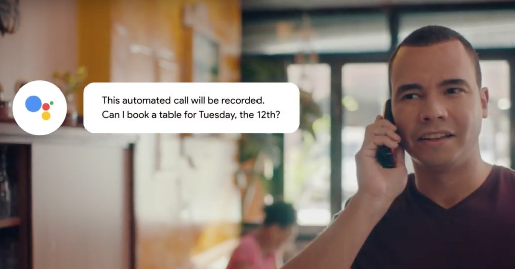 Google Duplex will start rolling out on Pixel devices next month