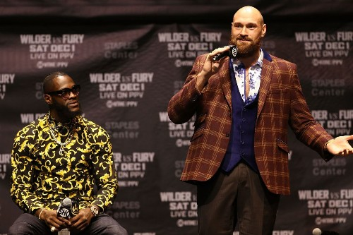 Wilder-Fury, Canelo-Fielding undercards revealed