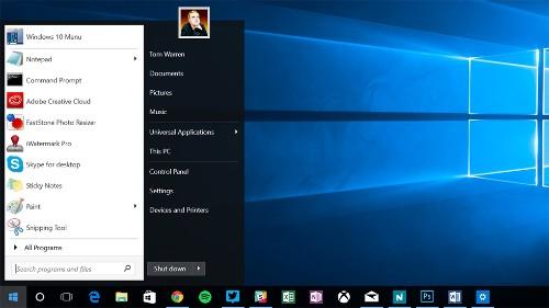 Start10 brings the old Windows 7 Start menu back to Windows 10