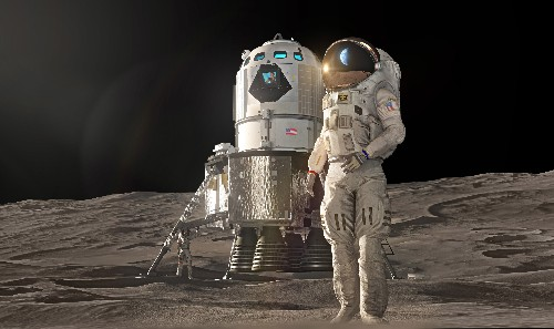 Lockheed Martin unveils lunar lander design to get humans to the Moon by 2024