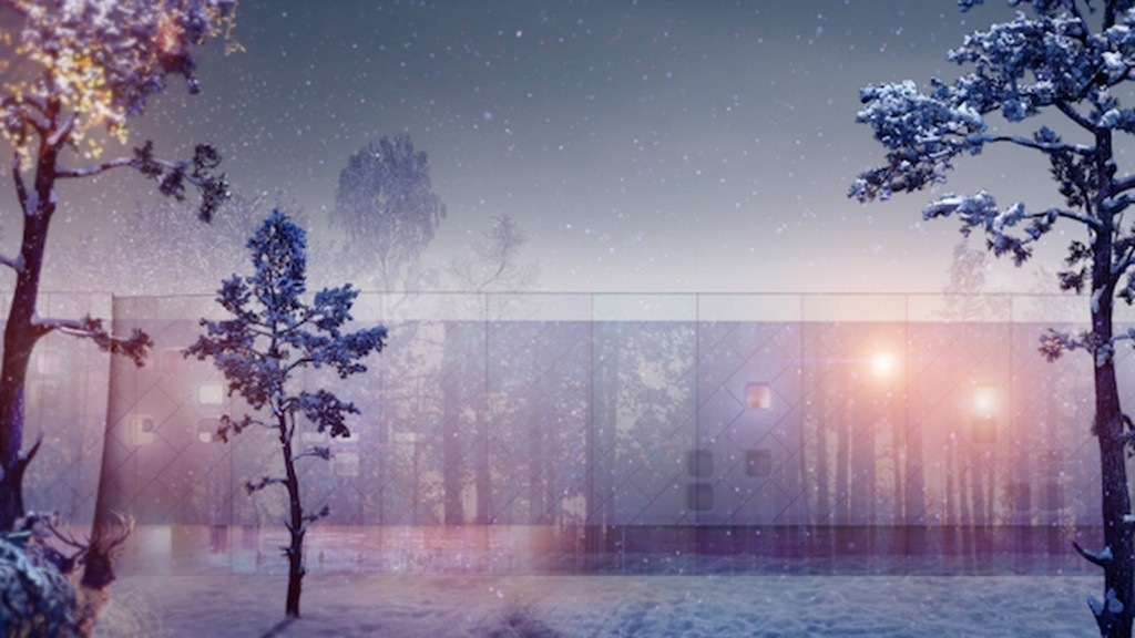 This is what happens when you ask hundreds of architects to design Santa's workshop