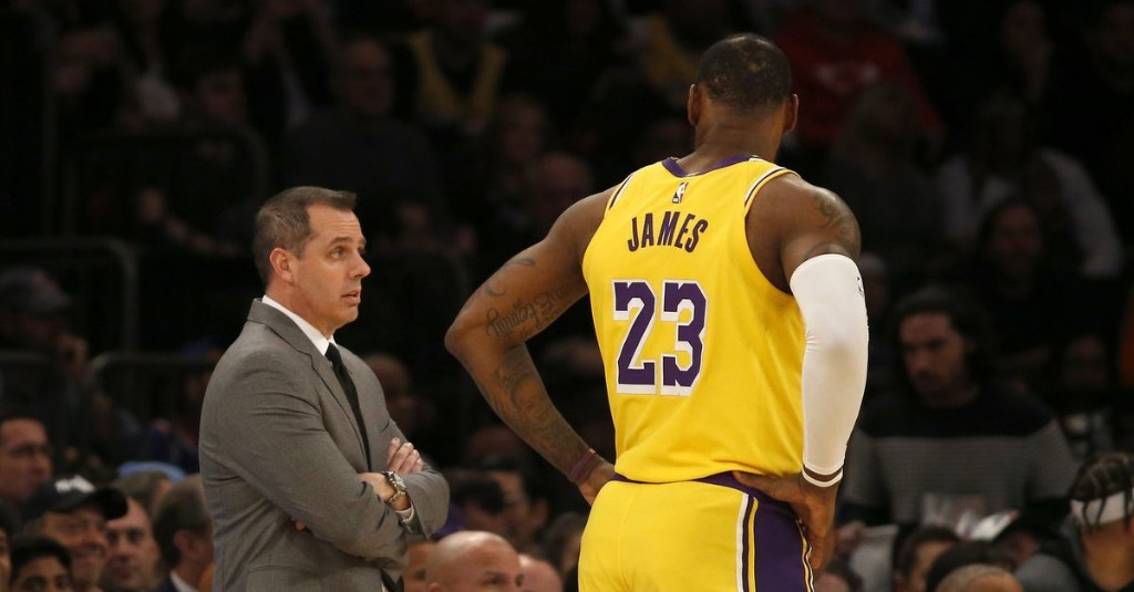 Rick Pitino thinks Frank Vogel is the 'perfect' coach for LeBron James