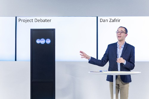 What it's like to watch an IBM AI successfully debate humans