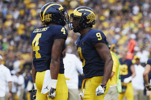 Josh Gattis says Michigan doesn't huddle ever, is an attacking offense