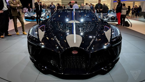 Bugatti's La Voiture Noire is a $19 million ode to the grotesquely rich