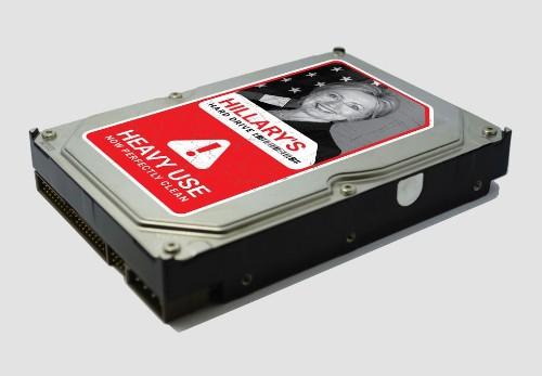 Rand Paul, class clown, is now selling novelty Hillary Clinton hard drives