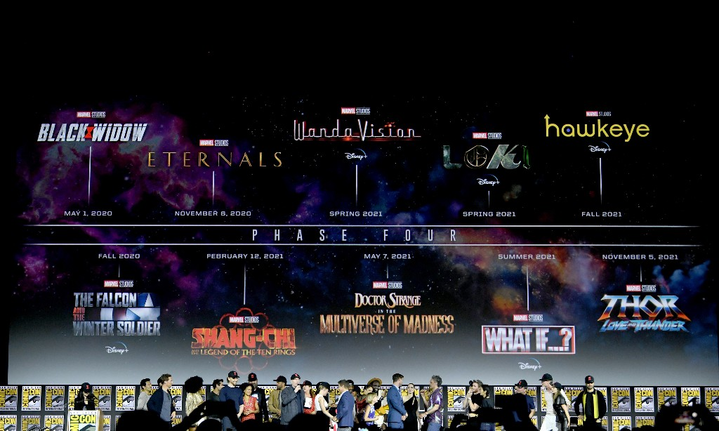 Marvel reveals massive Phase Four film and television plan
