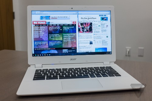 Acer's new Chromebook 13 offers a high-resolution screen and all-day battery life