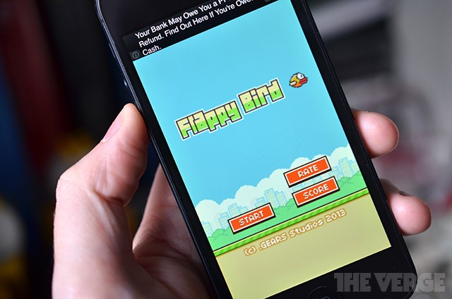 After 'Flappy Bird' takedown, phones with the game list for thousands on eBay