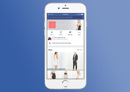 Facebook is turning business pages into storefronts