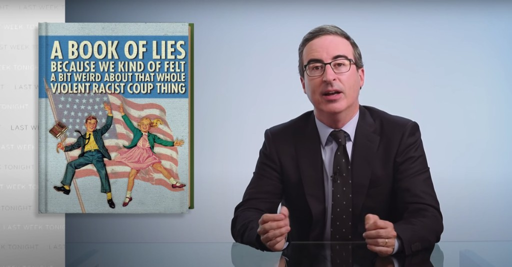 John Oliver Has Had Enough Of The U.S. School System's Crap