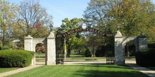 Elmhurst College closed Monday after threatening graffiti found
