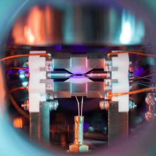 Image of a single suspended atom nabs science photography prize