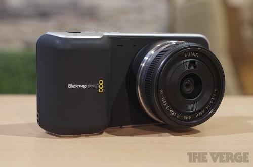 Blackmagic announces Pocket Cinema Camera and $3,995 Production Camera 4K (hands-on)
