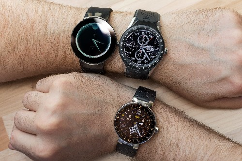 Android Wear now belongs to fashion brands, not gadget nerds