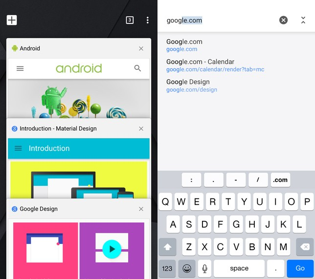 Chrome for iOS gets Material Design, now supports OS X's Handoff