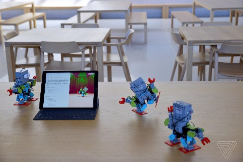 Apple's Swift Playgrounds coding app now supports robots, drones, and toys