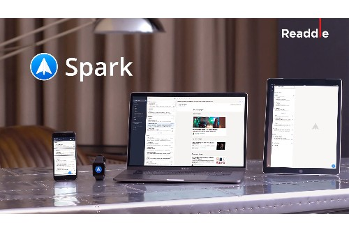 Spark email arrives for the Mac